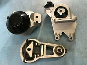 Hydraulic Motor And Auto Trans Mount 3pcs For Ford Explorer 11-15 V6 3.5l Turbo