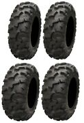 Full Set Of Itp Blackwater Evolution 26x9-12 And 26x11-12 Atv Tires 4