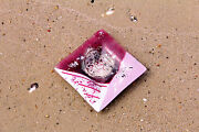Fused Glass Art Pink White Silver Square Glass Platter Aphrodite Collection H176