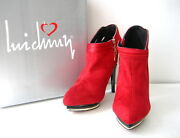 Luichiny Womenand039s Lazy Dazy Ankle Boot Size 8 Us Wine Red