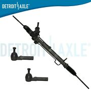 Power Rack And Pinion + Outer Tie Rods For Dodge Caravan Plymouth Grand Voyager