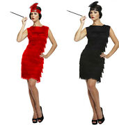 Adult Ladies Flapper 1920s 20and039s Charleston Great Gatsby Fancy Dress Costume New