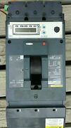 Square D Powerpact Lg 400 Circuit Breaker 3-pole W/digital Display Read Out.