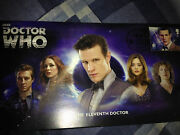Dr Who 50th Anniversary  11th Doctor Companions  Stamp Cover