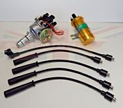 New Electronic Ignition Distributor Sport Coil And Wires Mg Midget 1500 1975-1979