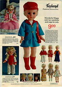 1973 Advertisement Doll Wiggy Wigs Bonnie Dee Barbie Tent Country Home Dune