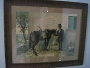 Vintage Pre Prohibition Green River Whiskey Cardstock Lithograph C1899