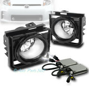 11-15 Scion Xb Bumper Driving Chrome Clear Lens Fog Lights Lamps W/8k Hid+switch