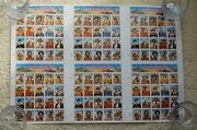 Us 2869a-t @ 1994 Mnh - Legends Of The West Stamps Full Press Sheet Of 120