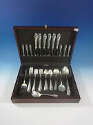 Lily Of The Valley By Gorham Sterling Silver Flatware Set Service 40 Pieces