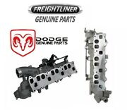 For Dodge Freightliner Sprinter 2500 Set Of Left And Right Intake Manifolds Oes