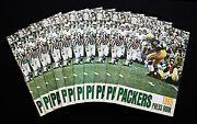 1965 Green Bay Packers Press Book/media Guide. Lot Of 10. Nm-mt Condition