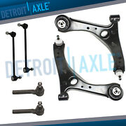 6pc Front Lower Control Arms And Suspension Kit For 2008-2016 Dodge Grand Caravan