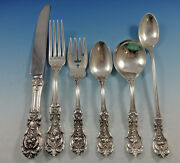 Francis I By Reed And Barton Sterling Silver Flatware Set For 8 Old Mark 51 Pieces