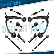 New 10pc Front Upper Control Arm Set And Complete Suspension Kit For Gm Trucks