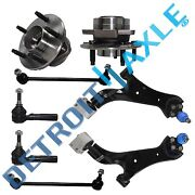 8pc Front Lower Control Arm Tie Rod Wheel Bearing Hub For Vue Equinox Torrent