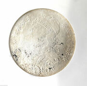 1808 Capped Bust Half Dollar 50c Ngc Ss New York Shipwreck Effect Coin