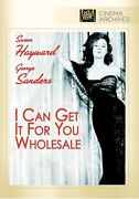 I Can Get It For You Wholesale Dvd 1951 - Susan Hayward, Dan Dailey