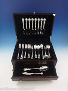 Old Master By Towle Sterling Silver Flatware Set For 8 Service 58 Pieces