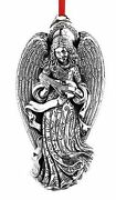 2015 Reed Barton Sterling Silver 13th Angel Victoria Christmas Ornament Pendant