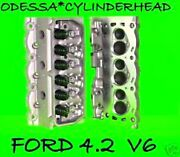 Ford F150 Taurus Sable 4.2 Ohv Cylinder Heads Rebuilt No Core