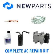 For Ford Thunderbird 96-97 3.8l Full A/c Repair Kit W/ New Compressor And Clutch