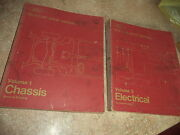 Oem 1974 Ford Shop Manuals 2 Vol's Vol 1 Chassis Vol 3 Electrical Pass Car