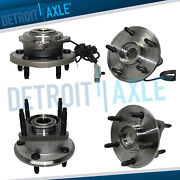 Front And Rear Wheel Bearing Hub For Jeep Grand Cherokee Commander 3.0l 3.7l 4.7l