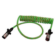 Electric Cable Abs 15ft W/ 48in 7/way Power For Tractor Trailers Big Rig Trucks