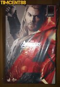 Hot Toys Mms306 Avengers Age Of Ultron Aou 1/6 Thor Figure New
