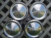 Vintage Fomoco Ford Falcon Ranchero 9 In. Hubcaps Wheelcovers Center Cap Antique