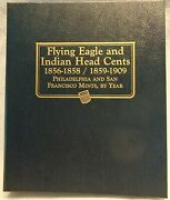 Whitman Classic Album 9111 Flying Eagle And Indian Head Cents 1856-1909 New