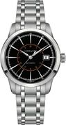 New Hamilton Railroad Automatic Stainless Steel Black 40mm H40555131