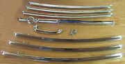 1955 1956 1957 Chevy Nomad Tailgate Bars Complete Set With Handle Set Of 8 Usa