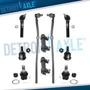 Suspension Kit Front Tie Rods Ball Joints For 2003-2008 Dodge Ram 2500 3500 4x4
