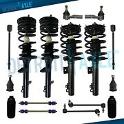 Front Rear Complete Strut Spring Assembly For Ford Taurus Mercury Sable Sedan