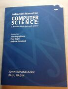 Rare Computer Science - A Breadth First Approach With C By Impagliazzo New Disk