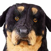 Rottweiler By Piutre, Hand Made In Italy, Plush Stuffed Animal Nwt