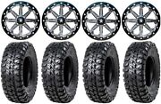 Msa Lok 14 Atv Wheels 30 Chicane Rx Tires Suzuki Kingquad