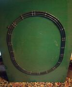 002 Vintage Lionel O Guage Oval Track W Ctc Lockdown Mounted Plywood 10 Sections