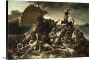 The Raft Of The Medusa 1819 Canvas Wall Art Print Ships And Boats Home Decor