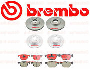 New Bmw X5 E70 Sav X6 E71 Brembo Front And Rear Disc Brake Rotors And Pads