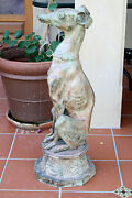 Magnificent 1900 French Bronze Dog