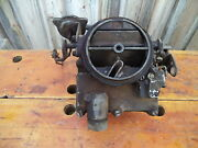 1969 Chevy Rochester 2bbl Carb 7029104 R2-2gv 154-9cb Large Base