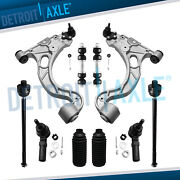 10pc Front Lower Control Arm Ball Joint Tierod Sway Link For Deville Seville