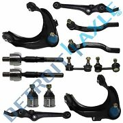 98-02 Honda Accord Front Control Arm Ball Joint Tierod Sway Bar Kit Coupe 12pc