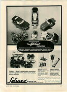 1966 Paper Ad Schuco Wind Up Car Plane Boat Race Cars Lufthansa Air Toy