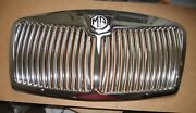 Brand New Mga Front Grille And Fitting Kit 1955-62 Chrome Plated Metal Flat