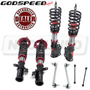 Godspeed Mmx3470 Maxx Damper Coilovers Camber Kit For Toyota Camry Acv50 2012-16