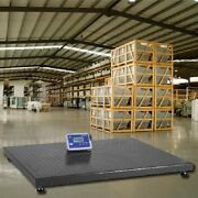 10000 Lbs Industrial Floor Scale 5and039 X 5and039 1 Lb Accuracy Free Shipping 60 X 60